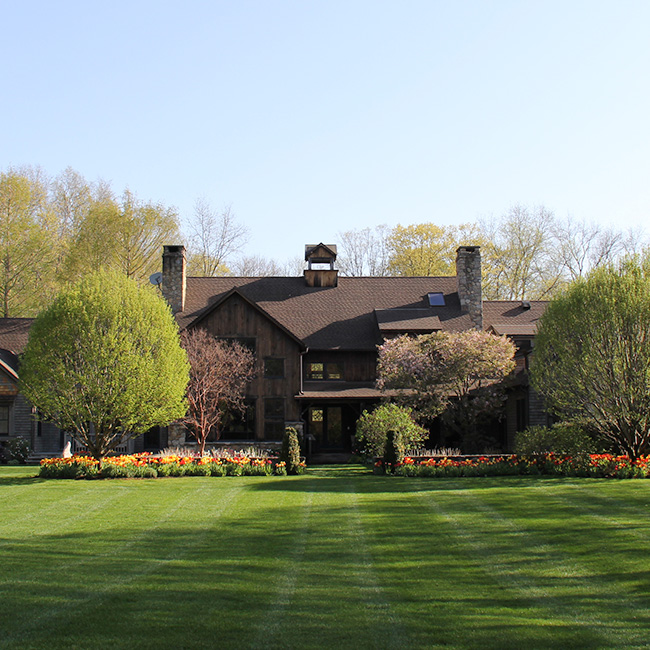 The LaurelRock Company provides year-round property enhancements such as Spring bulbs.